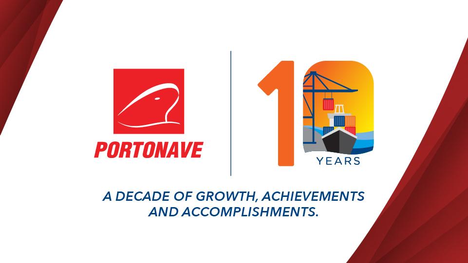Portonave 10 years